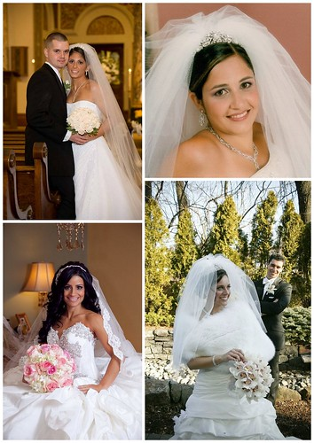 Bridal Styles real brides with traditional style