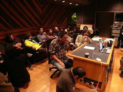 2011-01-09 録音スタジオ
