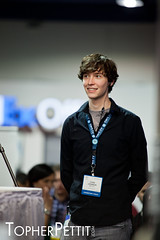 "Chad ""OMGChad"" Johnson @ CES 2011 (_Topher_) Tags: lasvegas nevada saturday twit ces chadjohnson lasvegasconventioncenter twitarmy consumerelectronicshow twitnetwork omgchad ces2011 topherpettitphotography consumerelectronicshow2011 techguyradio"