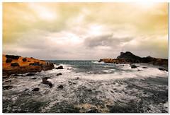 Landscape-Taiwan's North Coast and Yehliu Geopark (leonlee28) Tags: sea sky panorama cloud holiday water landscape coast nikon north taiwan panoramas wave dslr yehliu geopark leonlee28 leonlee landscapetaiwans