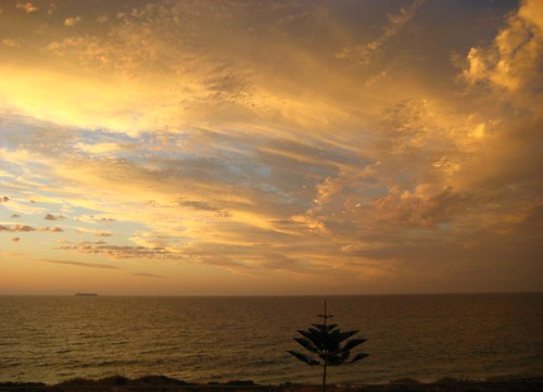 Perth, Australia - Cottesloe Beach Sunset
