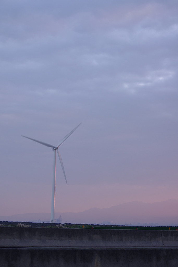 冬天裡的電風扇
