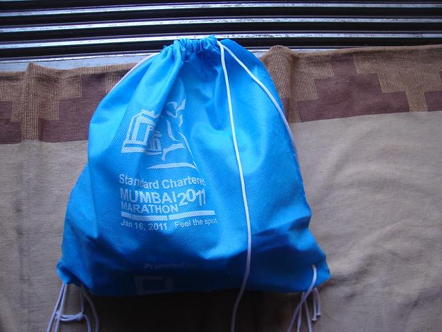 Mumbai Marathon - Goodie Bag
