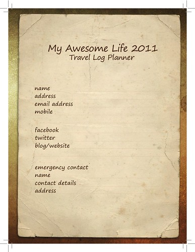 My Awesome Life Planner Owner