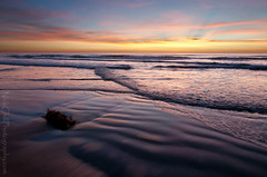 Ocean on Fire, Solana Beach (Nick Chill Photography) Tags: ocean california sunset sky photoshop photography sand nikon waves pacific sandiego fineart solanabeach explore stockimage fletchercove d300s nickchill