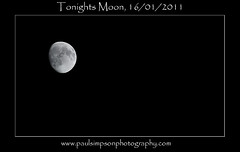 Moon - by Paul Simpson Photography