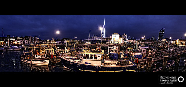 16/365 Portsmouth's Fishing Fleet
