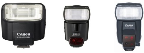 Using an externally mounted Canon Speedlite flash, as documented on pages 168 through 171 of the Canon SX30 IS Manual