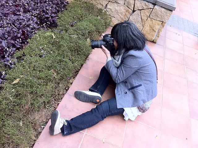 Crazy photog