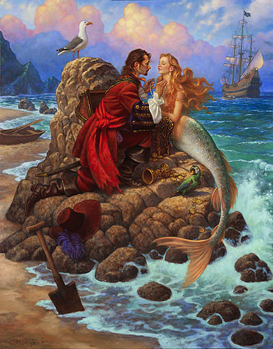 The Pirate and The Mermaid
