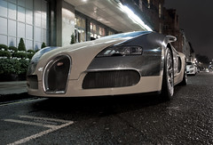 Bugatti (Luke Alexander Gilbertson) Tags: london hotel nikon luke cream chrome londres 164 80 bugatti londra rare exclusive f28 supercar w12 veyron gilbertson claridges 2011 2470 centennaire 1000hp hypercar 253mph 1000ps