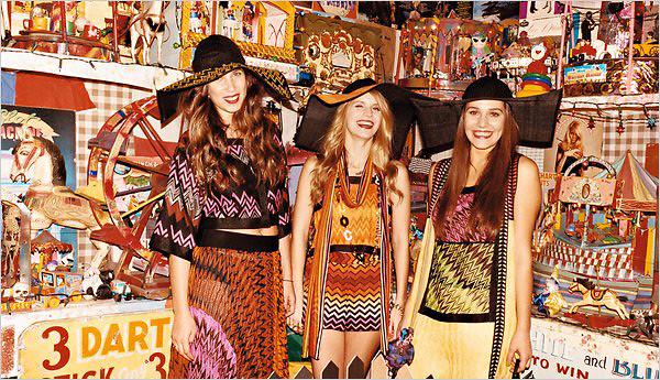 10  Campaña primavera 2011 Missoni