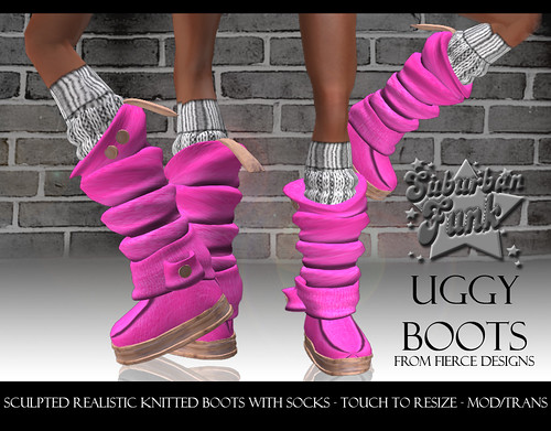 UGGY BOOTS PINK