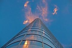 Dancing Clouds (mclcbooks) Tags: sky building architecture clouds reflections colorado denver umbbank mygearandme mygearandmepremium