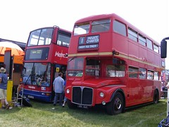 RM1123 123CLT (PD3.) Tags: park bus london buses downs coach transport royal 123 racing surrey routemaster races derby epsom lt grandstand 2010 psv pcv rm aec investec 1123 epsomdowns clt rm1123 123clt