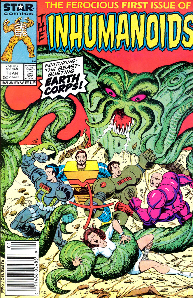 Inhumanoids - Issue 1 Cover