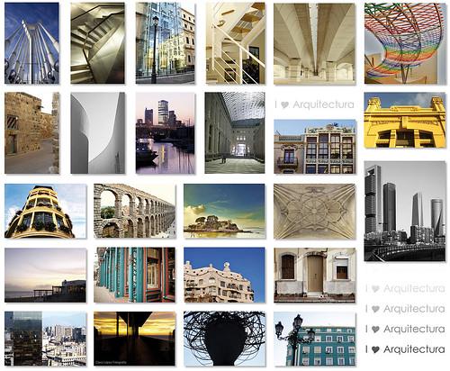 Mosaico arquitectura ]I[