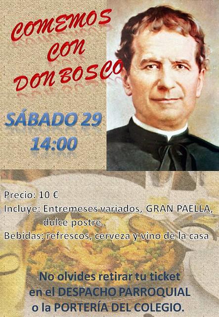 Comemos con Don Bosco