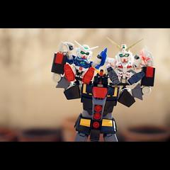 Fin. (toon_ee) Tags: toy thailand japanese 50mm model minolta f14 sony plastic sd psycho chiangmai gundam unicorn gunpla plamo hguc a850 exia