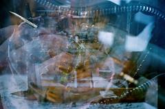 Film Happens (La Branaro) Tags: abstract film 1 kodak bokeh philosophy olympus multipleexposure 35mmfilm 400 mistake om portra om1 malfunction fragments kodakfilm filmphotography portra400 heraclitus zuikolens filmlesson newportra filmmistake portrafilm filmfailure philosophyoffilm filmhappens snaggedfilm filmadvancefailure filmabstract