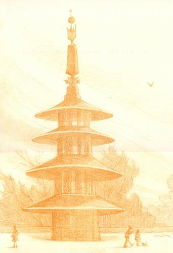 Peace Pagoda-SketchCrawl-2-1-22-11