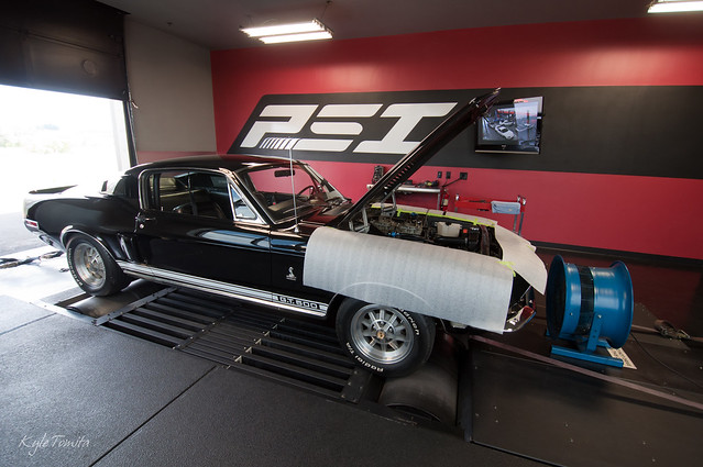 1968 Shelby GT500 on dyno at PSI.JPG