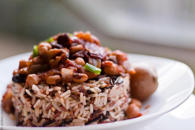 Red & Black Rice w/ Chili