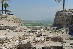 Megiddo Israel - 654 (simpsongls) Tags: ancientruins archaeologicalsite israel outdoor landscape valley jezreel megiddo ruins archaeology