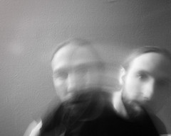 a ghost (katachthonios) Tags: portrait bw blur ghost ethereal