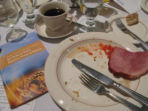 Nordic-American breakfast