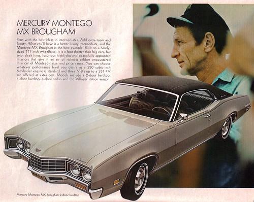 1971 Mercury Montego MX Brougham 2 Door Hardtop · 1970 Mercury Cougar