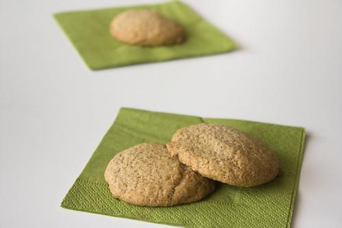 easy vegan toasted coconut cookies