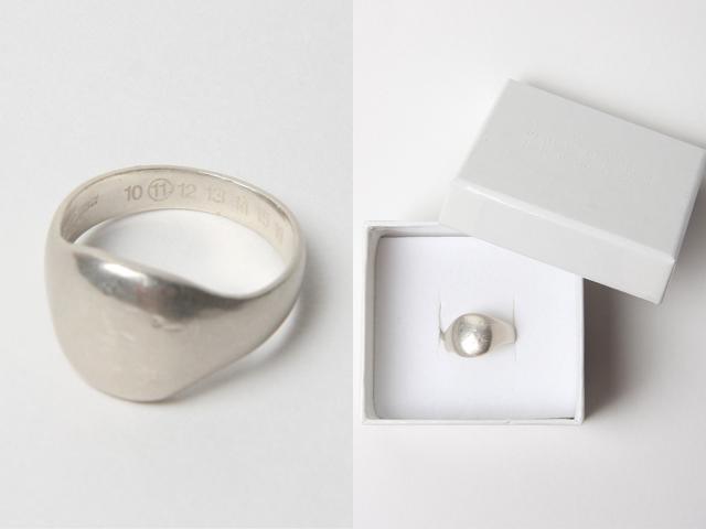 Martin Margiela silver ring 01c