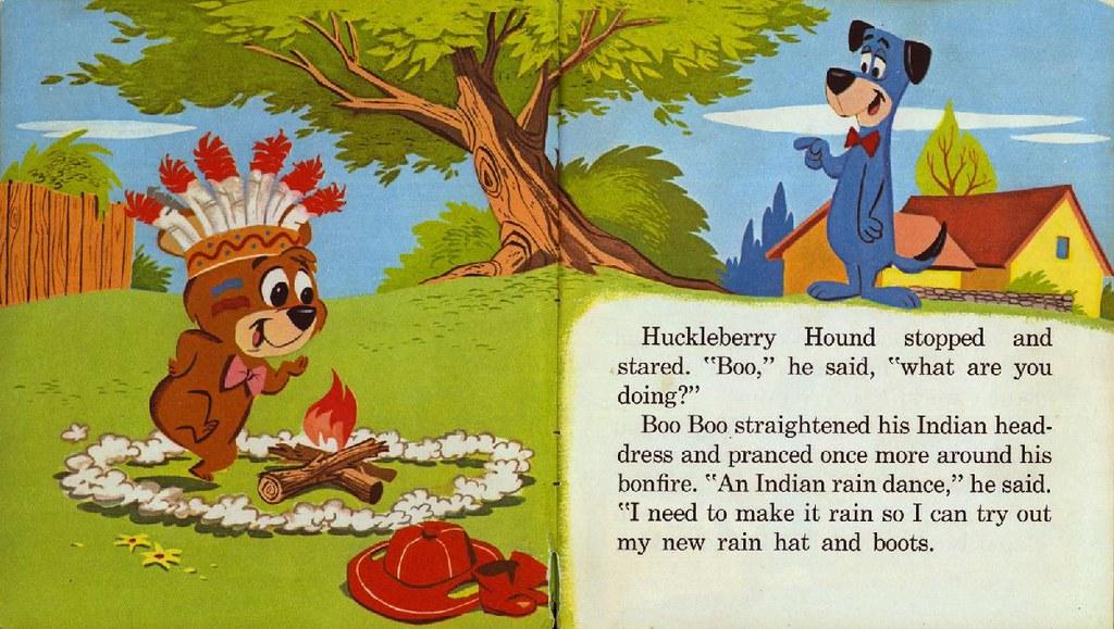 Huckleberry Hound the Rainmaker003