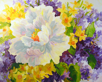 hmcraig Work In Progress (peony lilac narcissus)