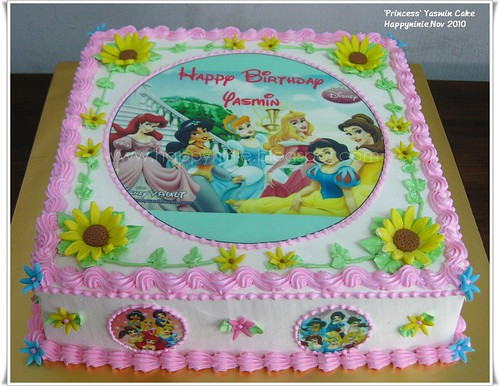 Happyninie Cakes Princess Yasmin Birthday Cake