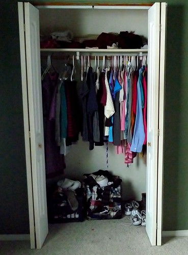 Cleaned closet