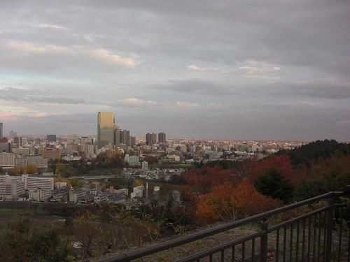 仙台の眺め
