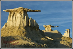 Imperial Walkers (MikeJonesPhoto) Tags: newmexico nature landscape wings photographer scenic parade professional badlands nm 1110 bisti 5067 mikejonesphoto smithsouthwestern wwwmikejonesphotocom