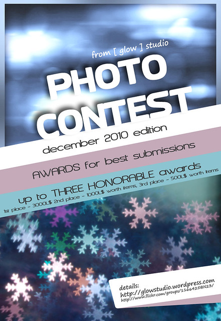[ glow ] studio photo contest