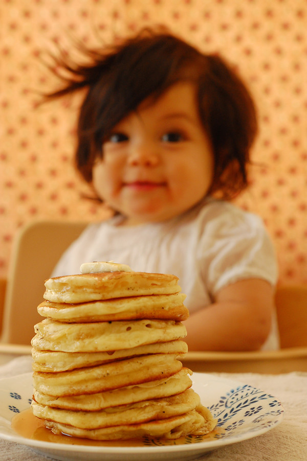 a pancake breakfast birthday party