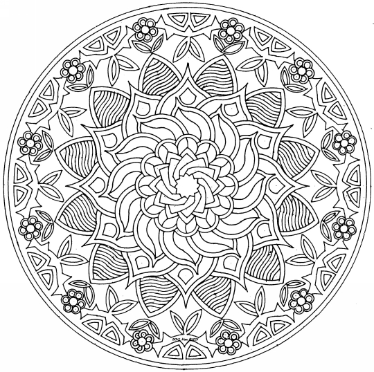 Colorear mandalas: arte-terapia | Elsecreto\'s Blog