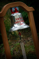 HMNZS Canterbury Bell at Te Rawhiti Marae