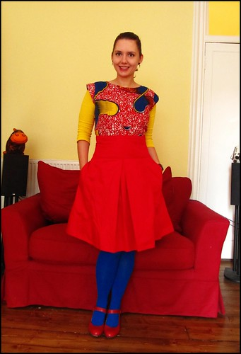 primary colours, styled by dave!
