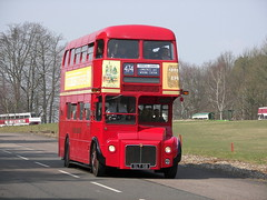 Prototype Routemaster at Longcross (Renown) Tags: buses museum surrey prototype cobham restoration routemaster coaches lt doubledecker leyland testtrack londontransport weymann preproduction experimantal longcross rml3 lte slt58