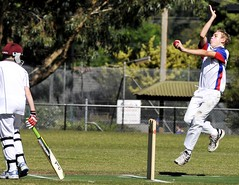 Cricket - Sport Photography by Vladimir D Ivanovic (PhotoArt Gallery VIDIM) Tags: blue friends summer sky white milan green boys public field grass weather sport club clouds sisters ball landscape happy parents daylight concentration moving coach team nikon brothers helmet bat australia melbourne competition skills running games victoria cricket falling grandparents impact bowling junior catch match environment pitch relatives midair players spectators mates bowler seam result mcc stumps trainer scoring opposition referees instructor wickets sportsmanship u10 coordination wicketkeeper trainings fielder mccc mulgrave dushan duan u13a 20102011 photoartvlade