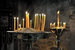 Blessed flames, Visocki Decani Monastery, Kosovo, December 4, 2010 (Ivan S. Abrams) Tags: ivansabrams abramsandmcdanielinternationallawandeconomicdiplomacy ivansabramsarizonaattorney ivansabramsbauniversityofpittsburghjduniversityofpittsburghllmuniversityofarizonainternationallawyer
