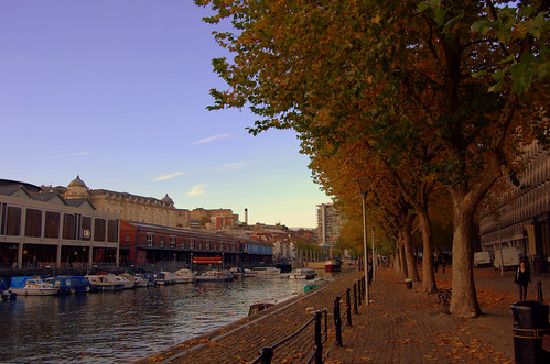 Bristol Quays And Hidden Colston