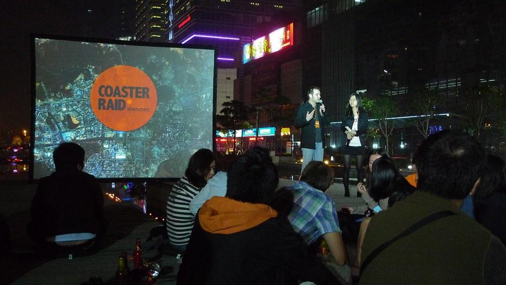 Coaster Raid Shenzhen