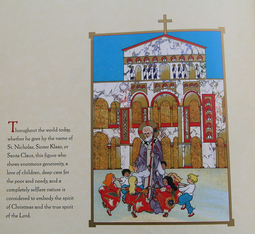 Page from Demi's The Legend of Saint Nicholas